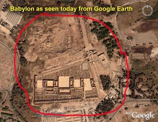 Babylon Google Earth