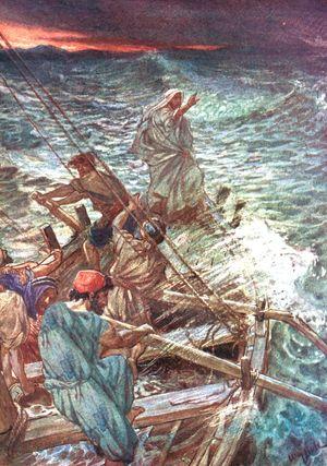 Jesus stilling storm 7